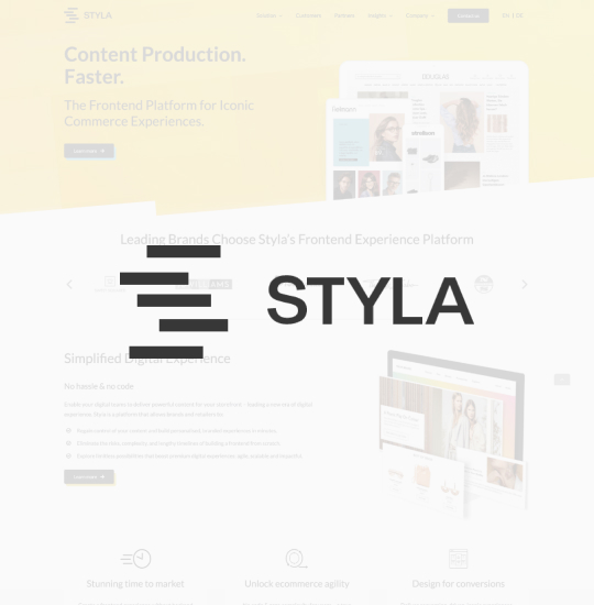 Styla Front-end